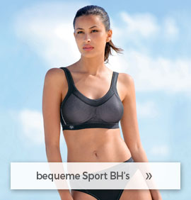 bequeme Sport BH´s